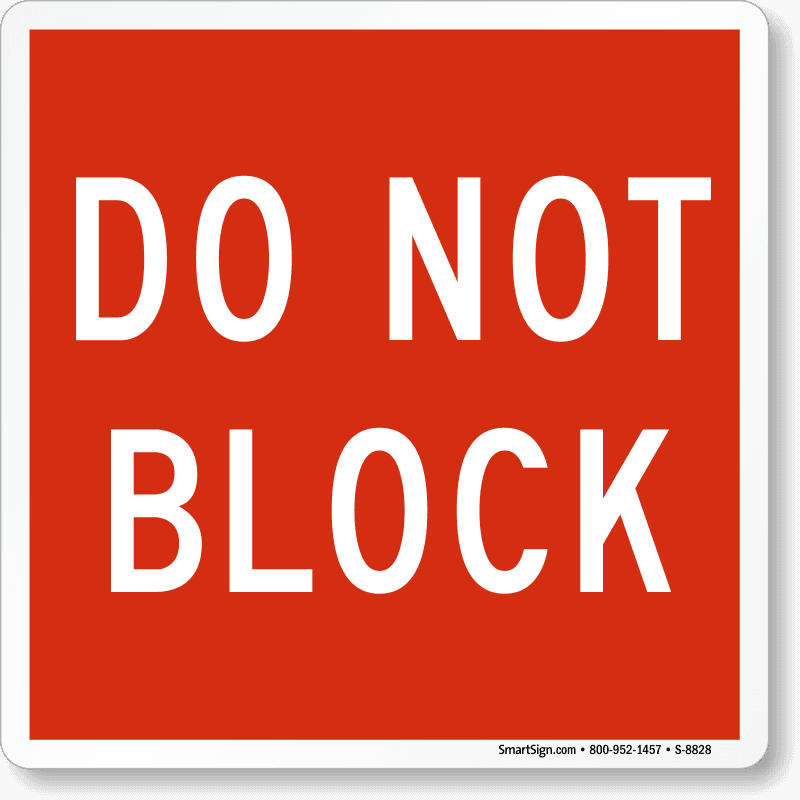 do-not-block-door-sign-s-8828